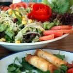 Sigara Borek and AkDeniz Salad