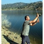 7 - Casting for Carp on the lake