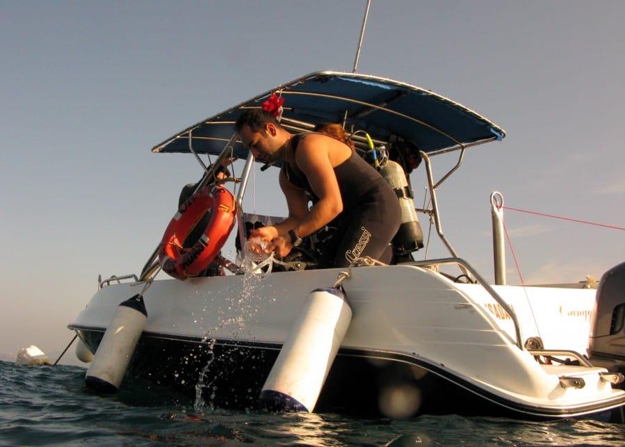 Jan 4th boat diving