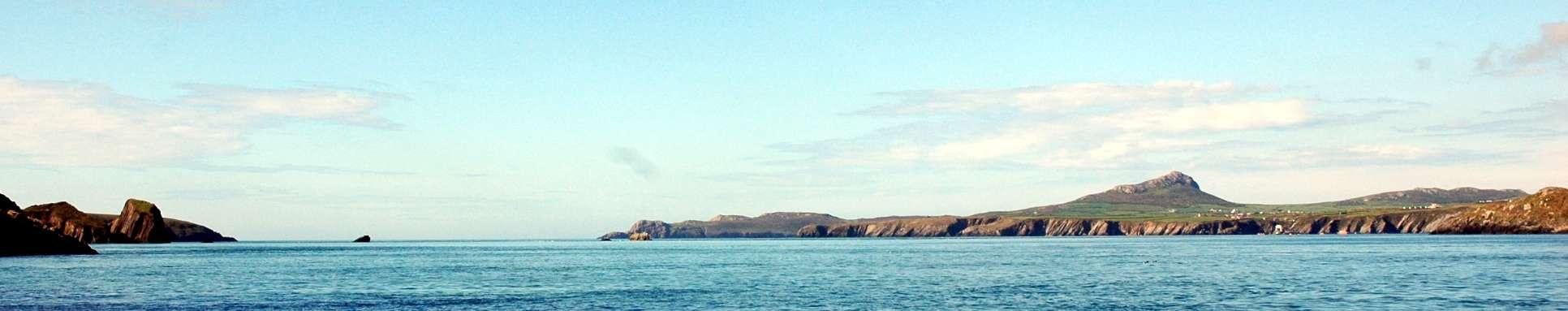 Ramsey island and St Davids Head