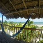 eco lodge on the beach