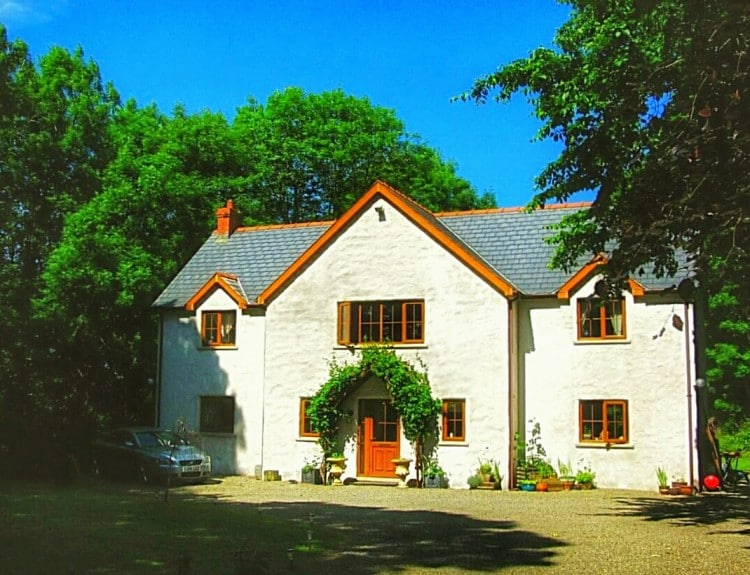 country house b&b pembrokeshire near ferry