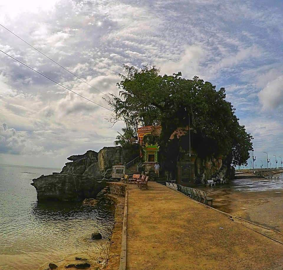 Temple on the rocks Phu Quoc
