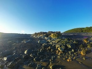 abermawr pebble bank pembrokeshire