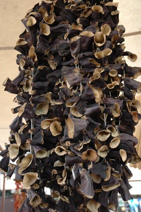 Dried Aubergine