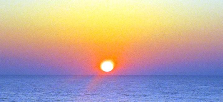 8 May sunset