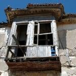 old balcony alacati