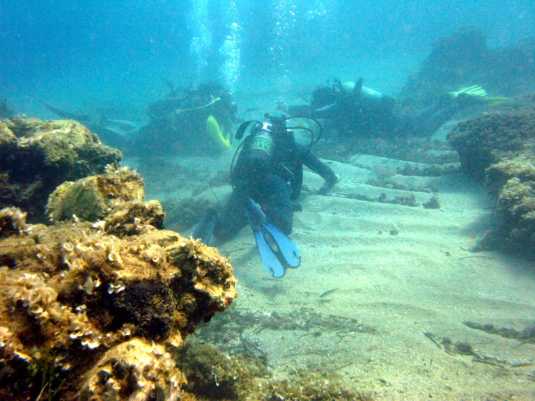 Underwater lessons