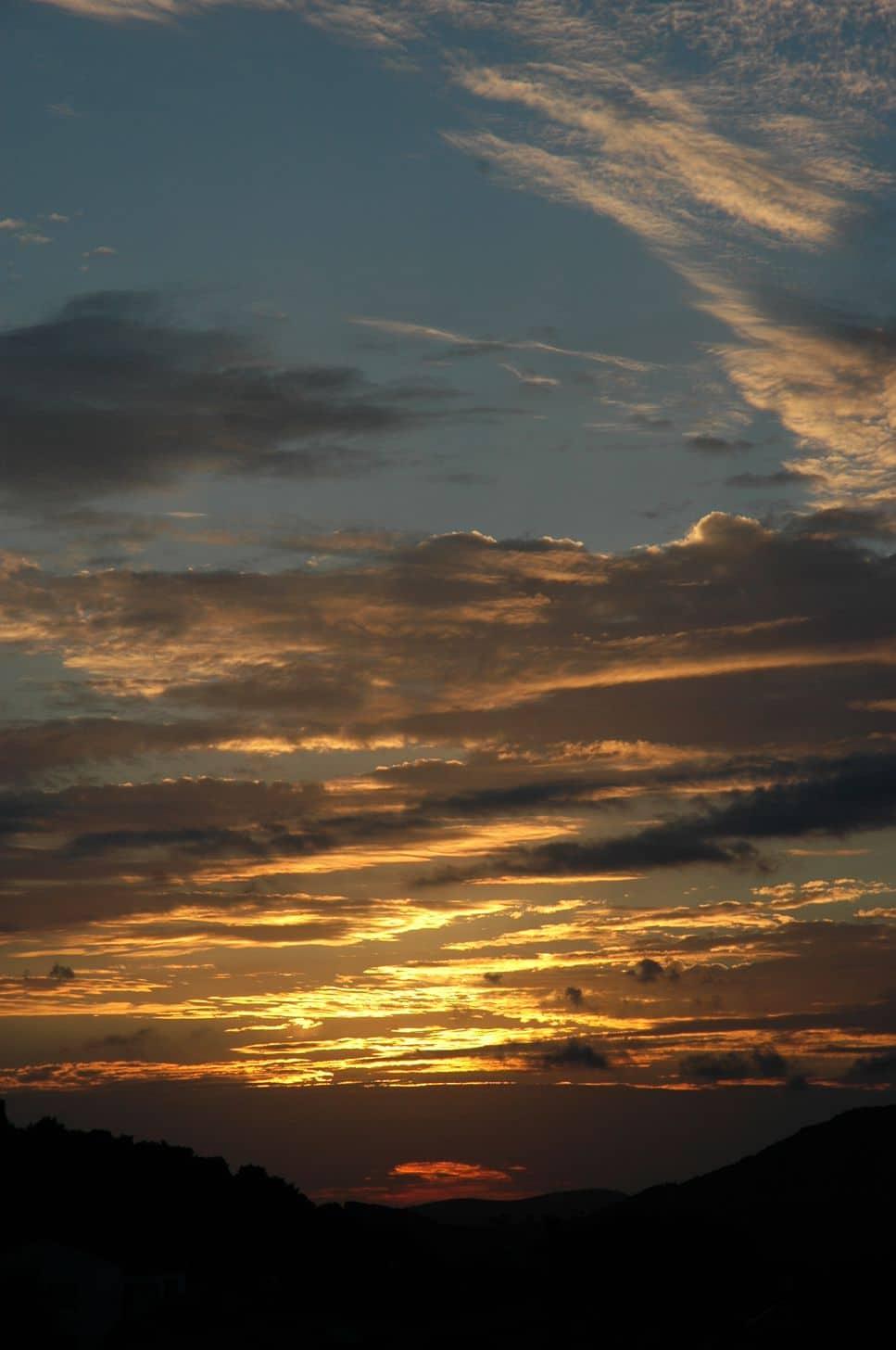 September sunset 1