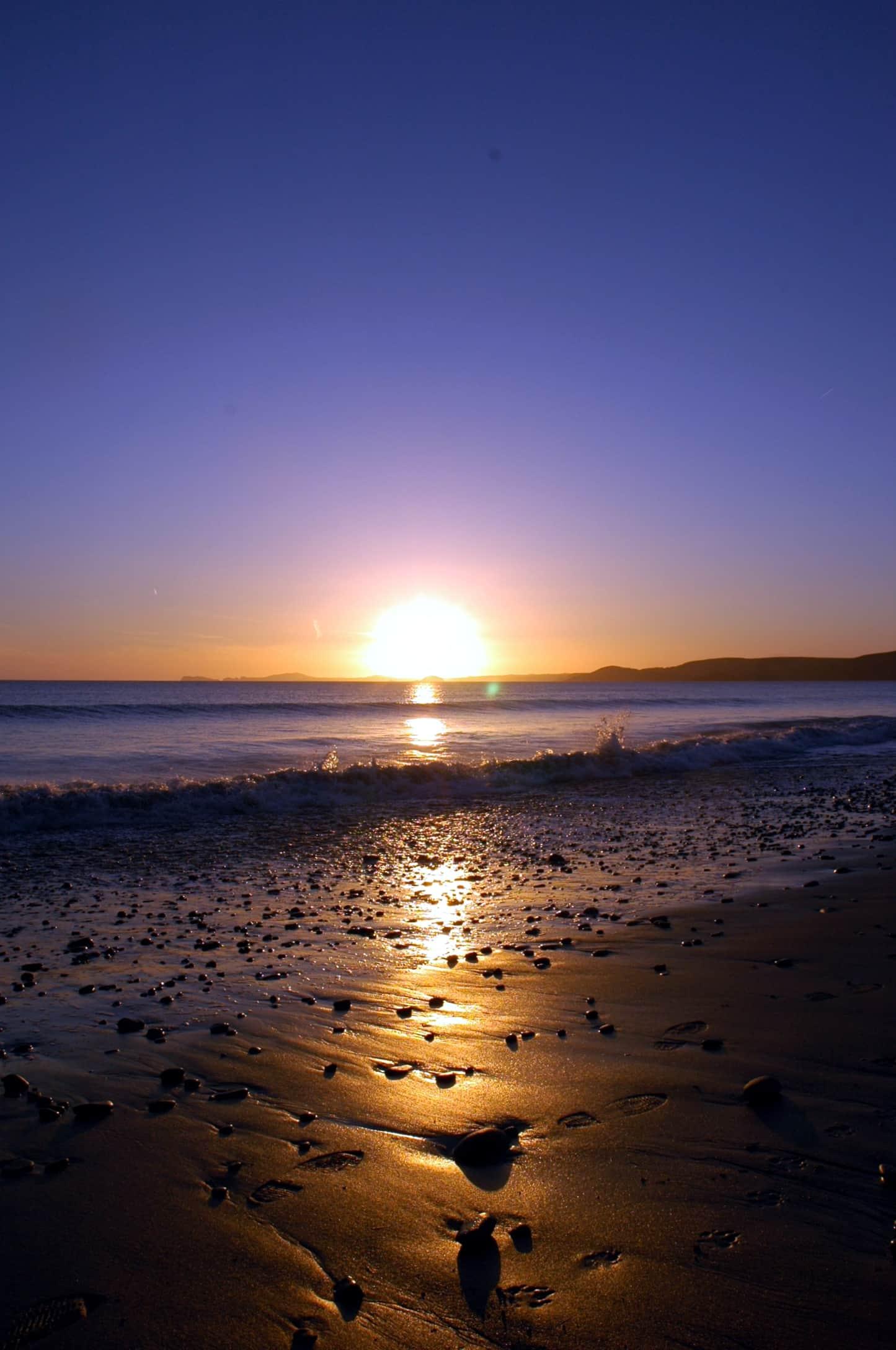 Sunset Newgale 14th april