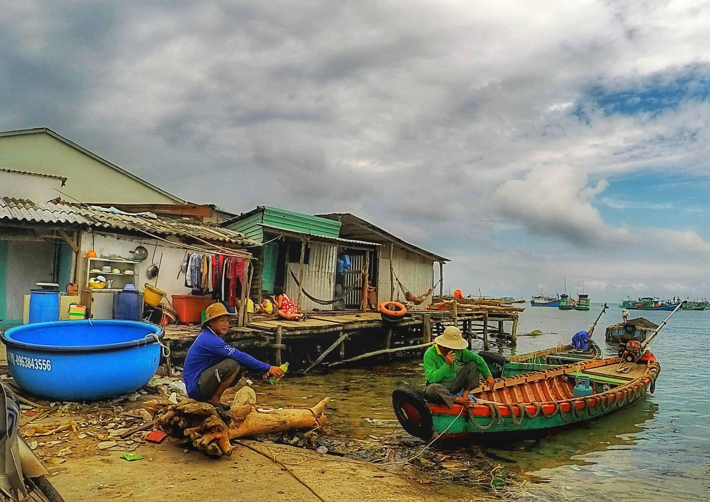 vietnamese coracles phu quoc